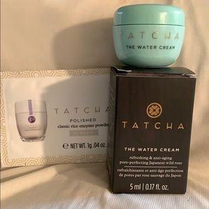 Tatcha The Water Cream & Rice Enzyme Powder